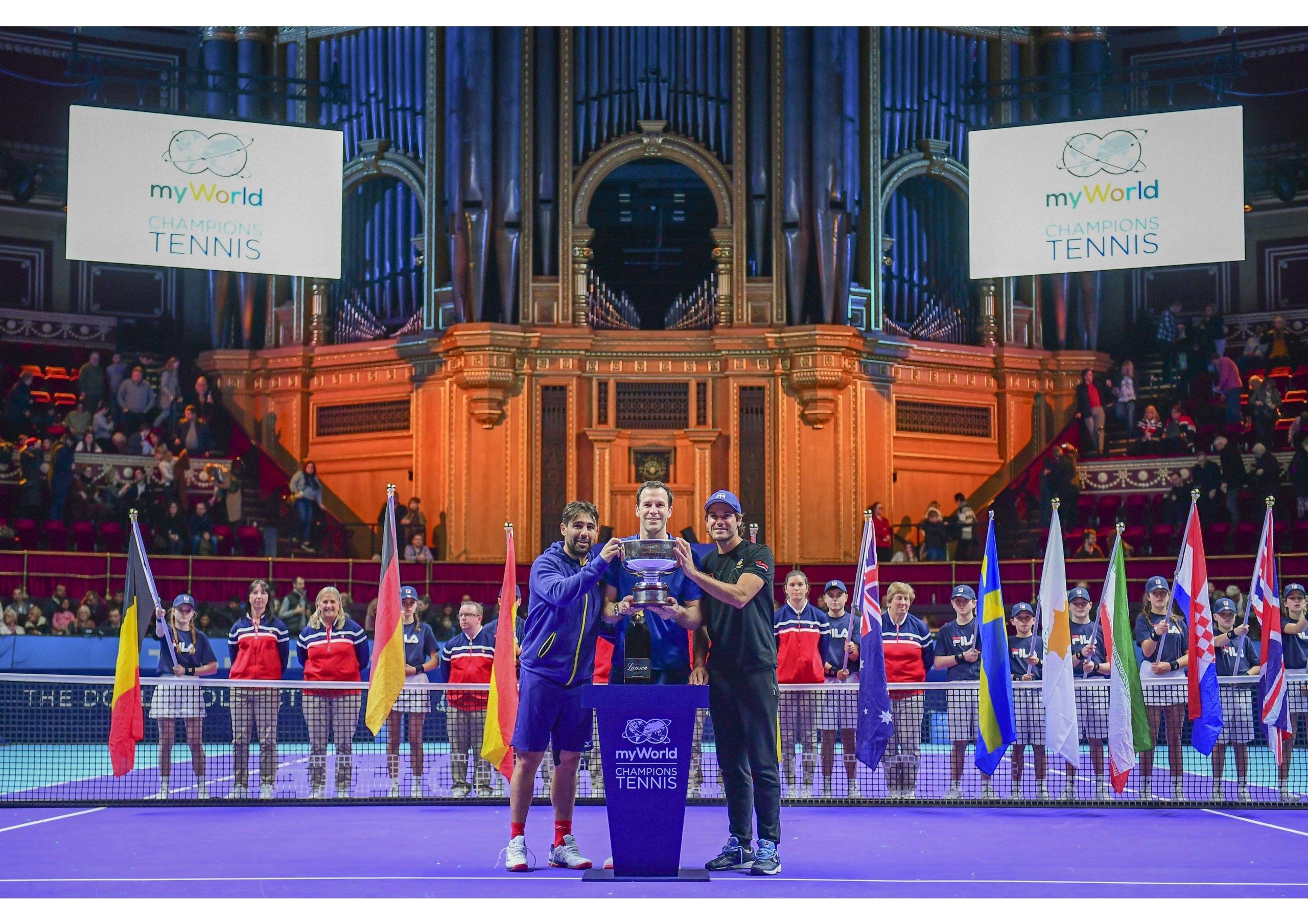 champions tennis royal albert hall