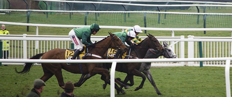 Racing Action at Cheltenham Festival