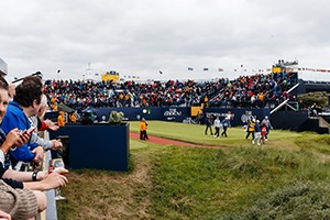 The Open tee off