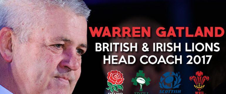 Warren Gatland Named British Lions Head Coach - Rugby