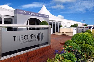 The Open hospitality village