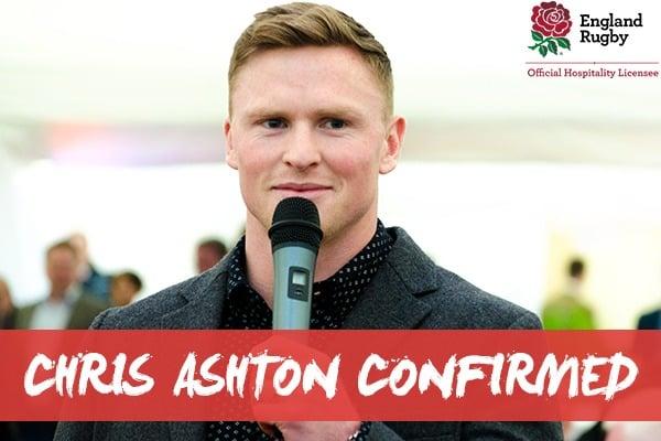 Chris Ashton Confirmed For England v South Africa - Autumn Internationals - Twickenham