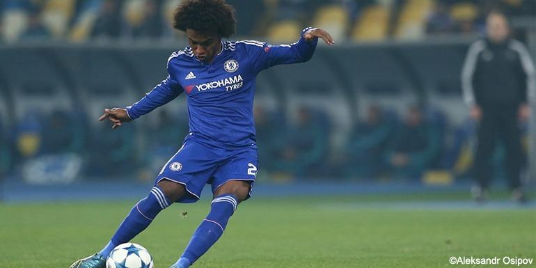 Willian for Chelsea FC