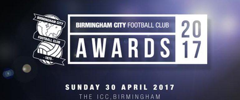 Birmingham City Football Club 2017 Awards Banner