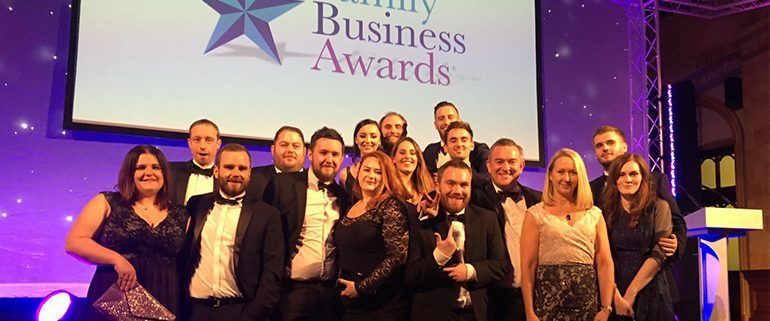 Eventmasters at the Family Business Awards