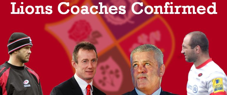 British Lions Rugby Coaches Banner