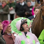 Ruby Walsh and Annie Power at Cheltenham Festival