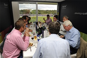 Private Boxes - Emirates ICG Durham Hospitality Reviews