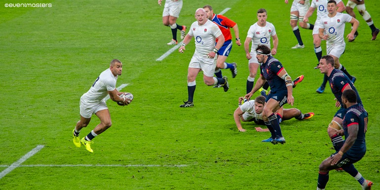 Jonathan Joseph - Twickenham Six Nations Hospitality