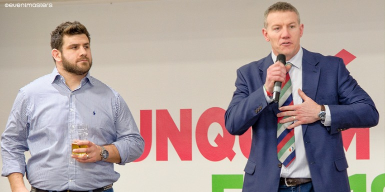 Rob Webber and Tim Stimpson