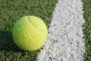 Tennis Ball at Wimbledon