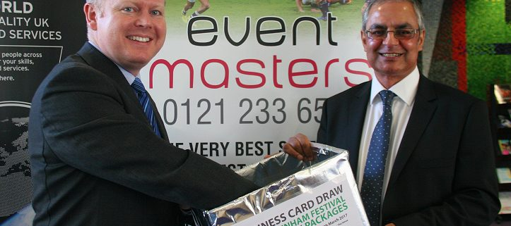 Eventmasters select prize winner from Expo 2017