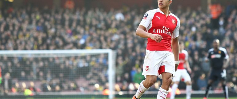 Alexis Sanchez for Arsenal FC