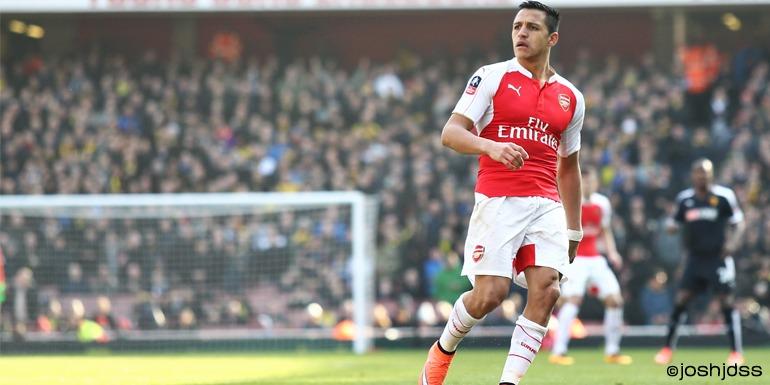 Alexis Sanchez for Arsenal FC