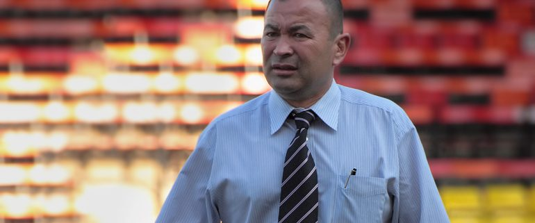 England Rugby Manager Eddie Jones