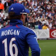 Eoin Morgan Looks Out On Cricket Grounds
