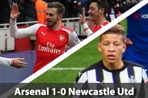 Arsenal Hospitality - Arsenal v Newcastle - Emirates Stadium