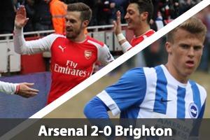 Arsenal Hospitality - Arsenal v Brighton - Emirates Stadium
