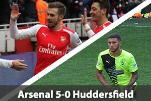 Arsenal Hospitality - Arsenal v Huddersfield - Emirates Stadium