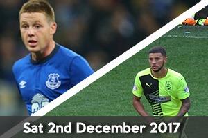 Everton Hospitality - Everton v Huddersfield - Goodison Park