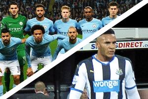 Manchester City v Newcastle United Hospitality