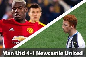 Manchester United Hospitality - Man United v Newcastle - Old Trafford