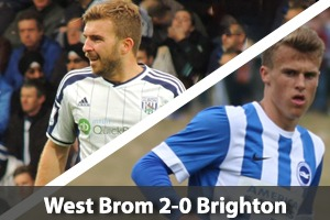 West Bromwich Albion Hospitality - West Brom v Brighton - The Hawthorns