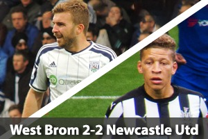 West Bromwich Albion Hospitality - West Brom v Newcastle - The Hawthorns