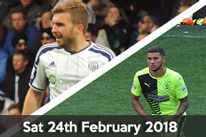 West Bromwich Albion Hospitality - West Brom v Huddersfield - The Hawthorns