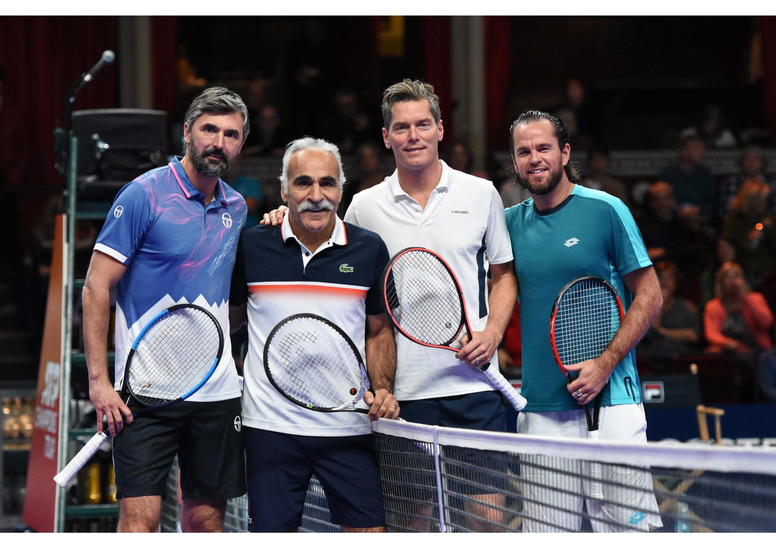 Champions Tennis Players Royal Albert Hall