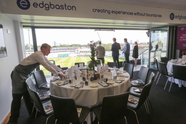 Edgbaston Hospitality - England Cricket - Corporate Packages