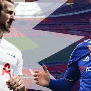Tottenham vs Chelsea at Wembley Stadium