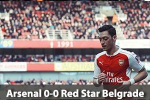 Arsenal Hospitality - Arsenal v Red Star Belgrade - Emirates Stadium Packages