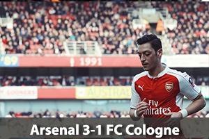 Arsenal Hospitality - Arsenal v Cologne - Emirates Stadium