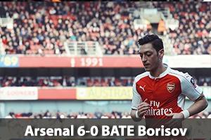 Arsenal Hospitality - Arsenal v BATE Borisov - Emirates Stadium