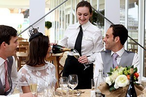 Carriages Restaurant - Royal Ascot Hospitality Reviews