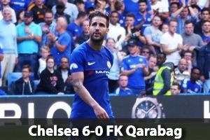 Chelsea Hospitality - Chelsea v Qarabag - Stamford Bridge