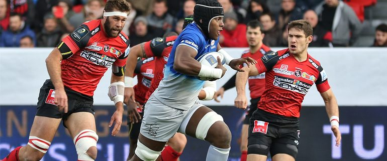 Rugby Player Maro Itoje for England
