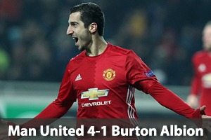 Manchester United Hospitality - Manchester United v Burton Albion - Carabao Cup - Old Trafford Packages