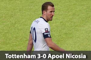 Tottenham Hotspur Hospitality - Spurs v Apoel Nicosia - Wembley Stadium - Champions League