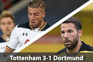 Tottenham Hotspur Hospitality - Spurs v Borussia Dortmund - Wembley Stadium - Champions League