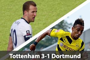 Tottenham Hotspur Hospitality - Spurs v Borussia Dortmund - Wembley Stadium Packages