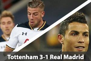 Tottenham Hotspur Hospitality - Spurs v Real Madrid - Wembley Stadium Packages