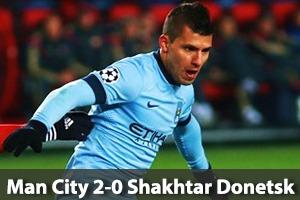Manchester City Hospitality - Man City v Shakhtar Donetsk - Champions League - Etihad Stadium