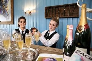 Royal Ascot Hospitality Servers