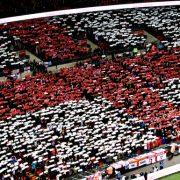 England Flag at Stadium