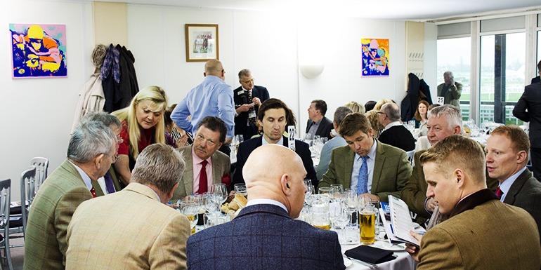 Cheltenham Festival Hospitality 2018 - Luncheon Menu