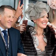 Grand National Hospitality guests enjoying the races