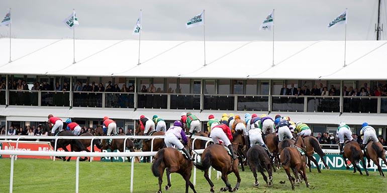 Grand National Hospitality 2018 - Silks - Aintree Racecourse