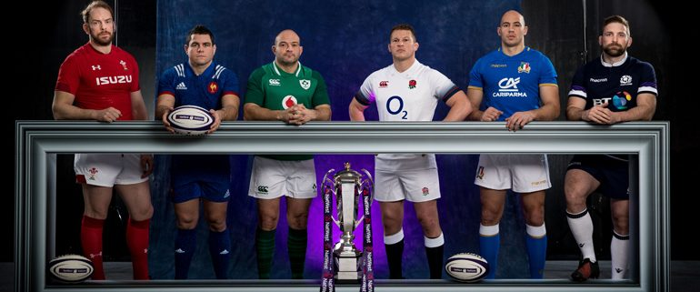 Six Nations Rugby Players